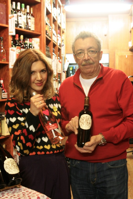 Albert and I from Quintessential Wines.